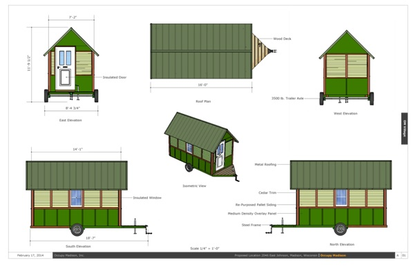 Features om tiny houses more for Exterior features of a house